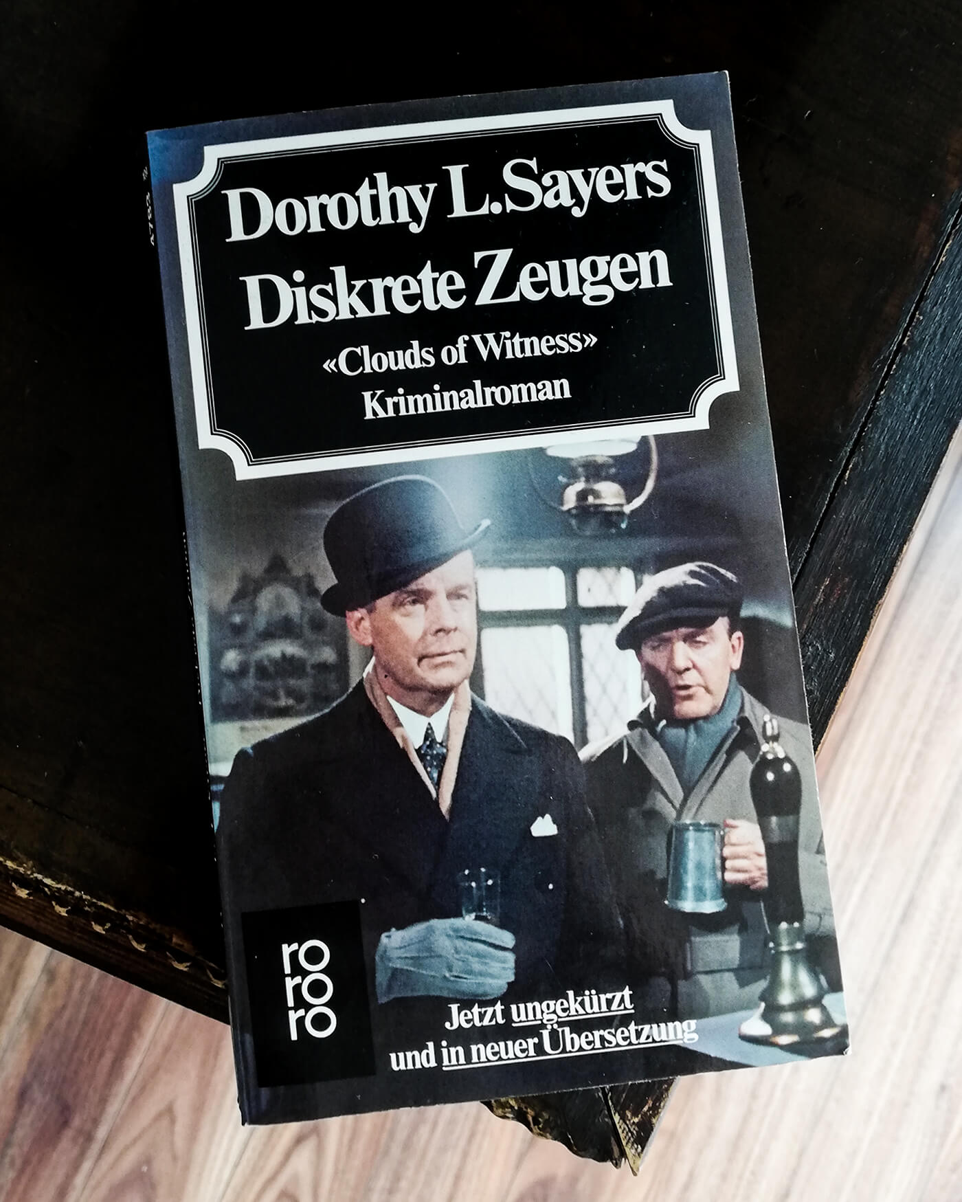 Dorothy Sayers Diskrete Zeugen Peter Wimsey