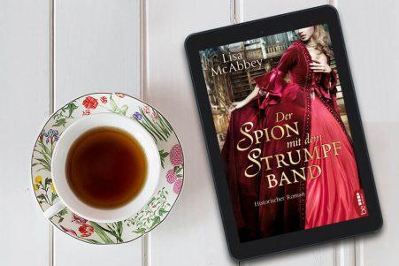 Historischer Liebesroman Der Spion mit dem Strumpfband