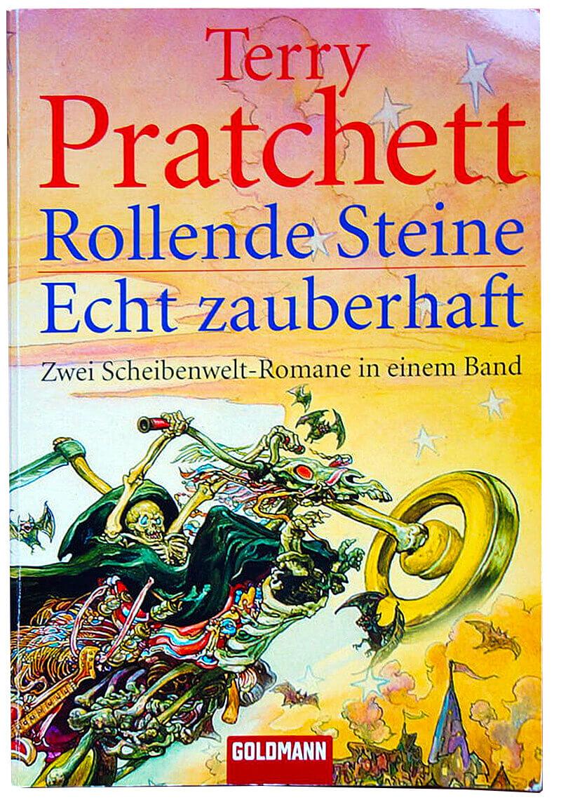 Rezension Terry Pratchett Rollende Steine