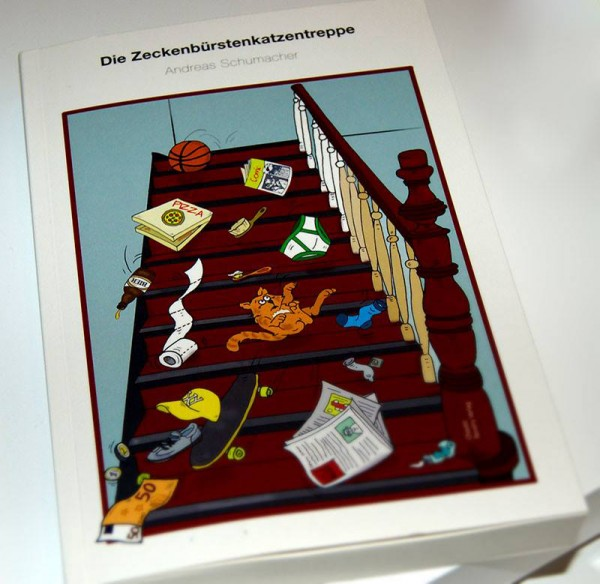 Zeckebürstenkatzentreppe