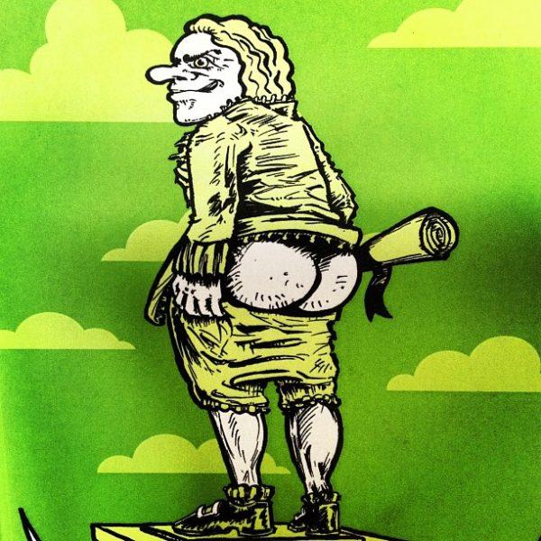 Voltaires Arschbacken von Johannes Witek